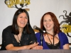 On the panel, with our director at Comikaze